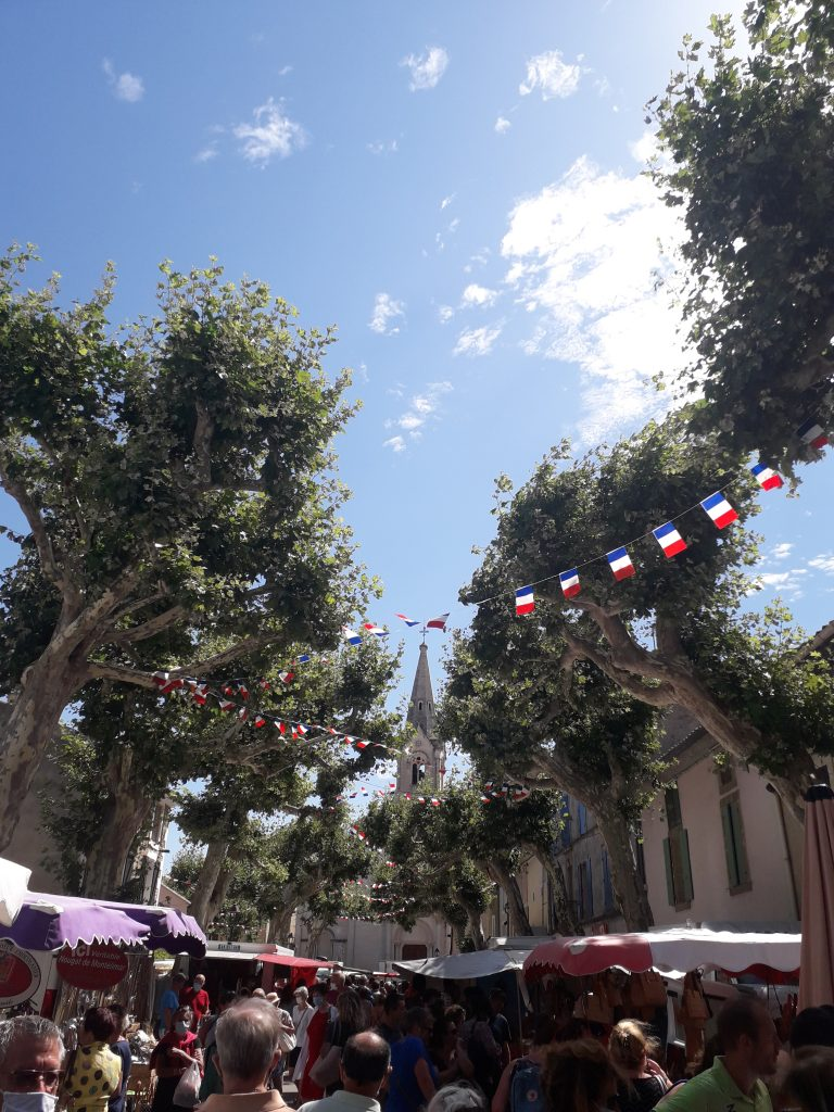 Markttag in Dijon