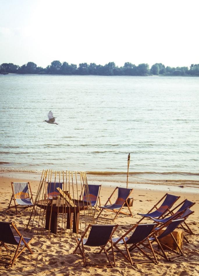 Abkühlung gefällig am Strandbad Wedel