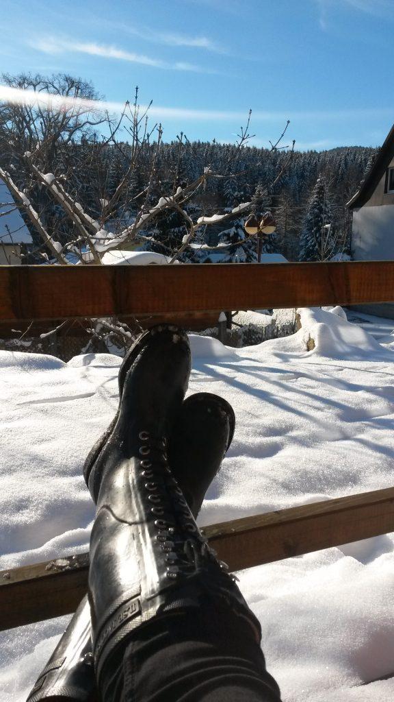 Schnee Foto - 3 simple Bearbeitungstipps !