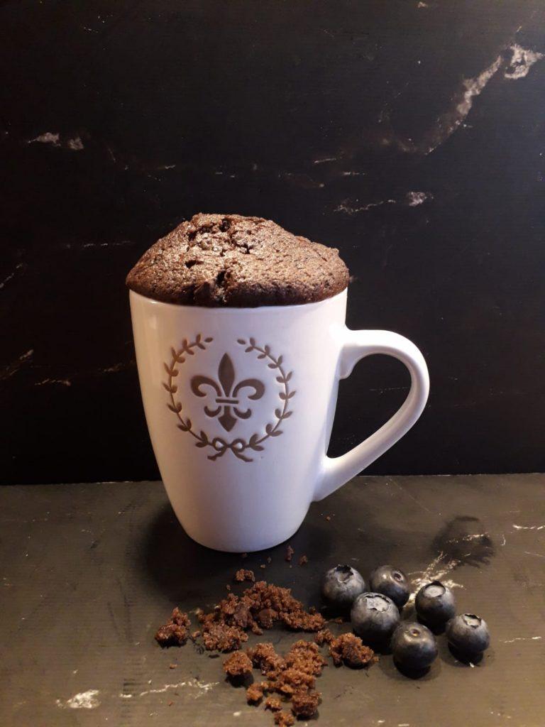 TASSENKUCHEN Schokolade mit Beeren